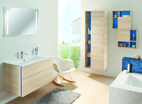 Sanipa Spiegel mit Badezimmer