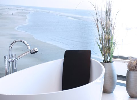 WaschSalon - Badewanne, freistehend, oval