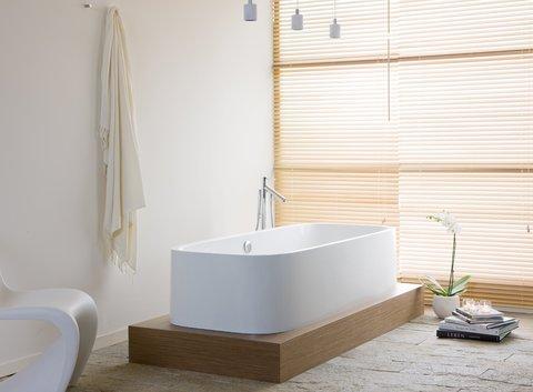 HOESCH Single Bath Duo - Freistehende Badewanne mit Podest