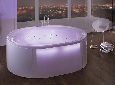 HOESCH Ergo - freistehende Badewanne oval